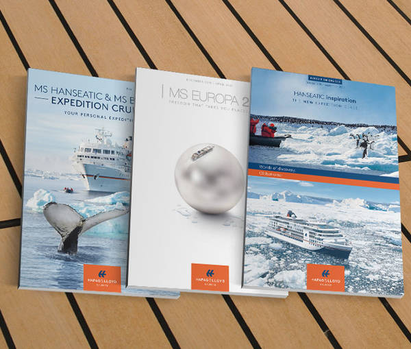 Catalogues from Hapag-Lloyd Cruises