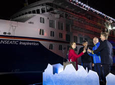 "Hapag-Lloyd Cruises Naming Ceremony ""HANSEATIC inspiration"""