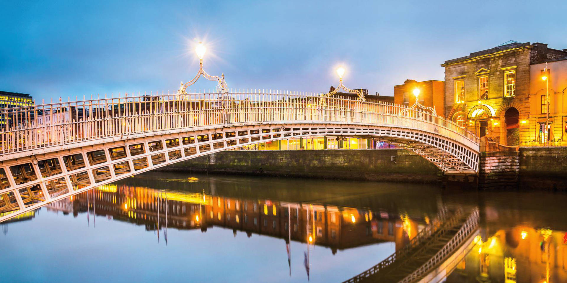 Dublin Ha'penny Bridge, Ireland