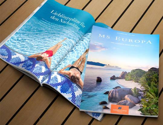 Ms Europa Kataloge Kostenlose Katalogbestellung Hapag