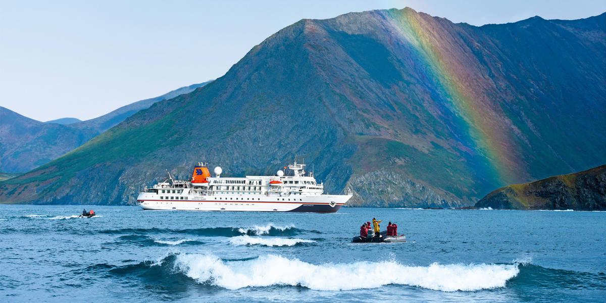 Expeditionskreuzfahrt von Seward nach Nome mit MS BREMEN - BRE2012 ...