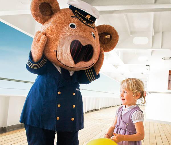 MS Europa, Fahrt zum Polarkreis 2011, Familienreise,