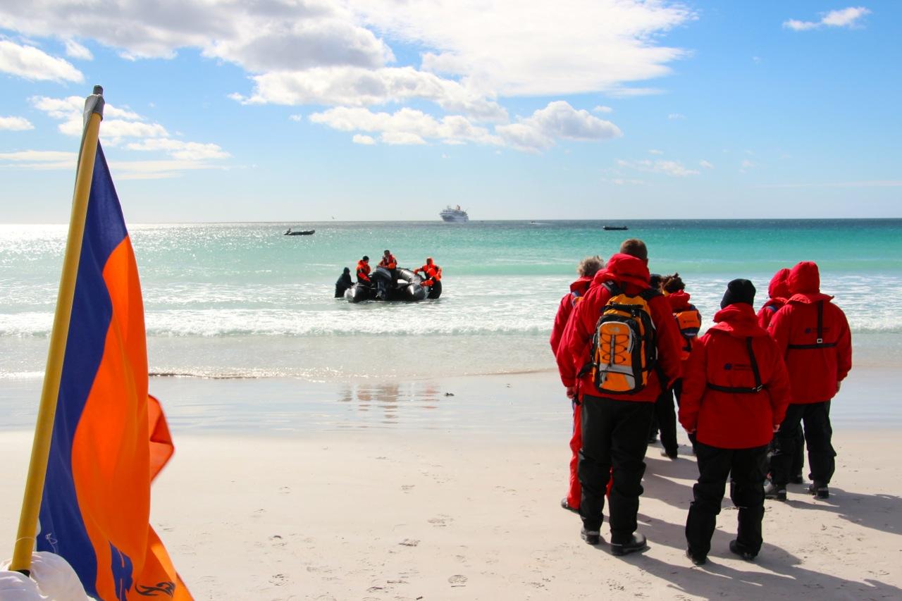 Antarktis_Kreuzfahrt_Bremen_Volunteer_Beach_Rückfahrt_pushreset