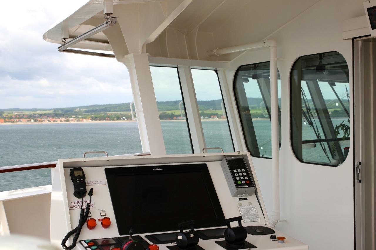 MS Europa2, Hapag-Lloyd Kreuzfahrten. Copyright Susanne Baade, pushreset.