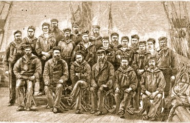 Nordostpassage_VegaMannschaft_historisch