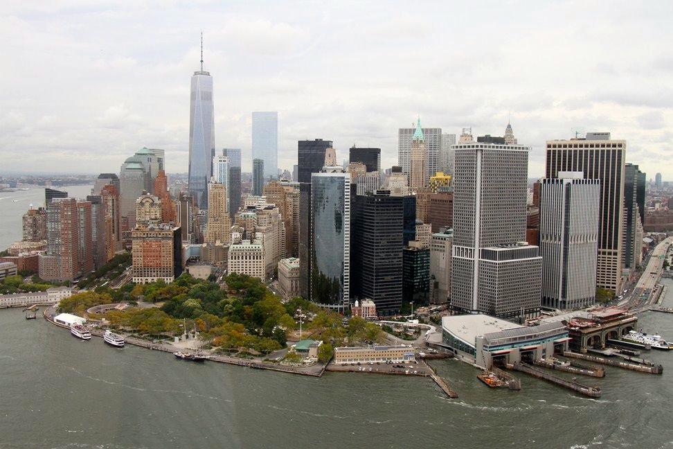 01 Manhattan aus der Luft