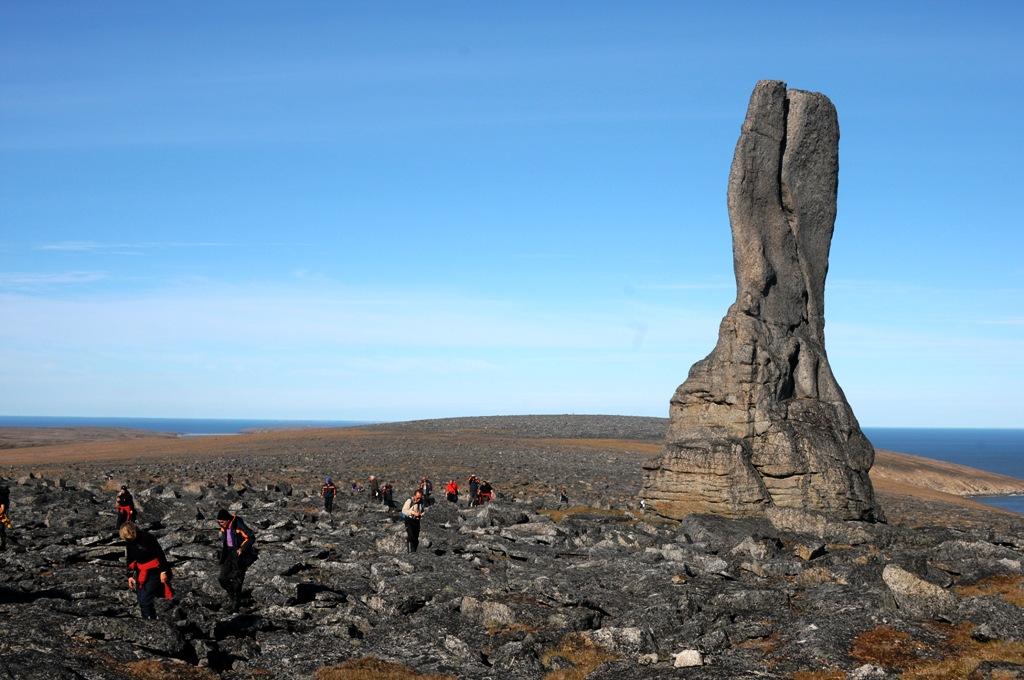 Pillars mit Wandergruppe F.GINGELE