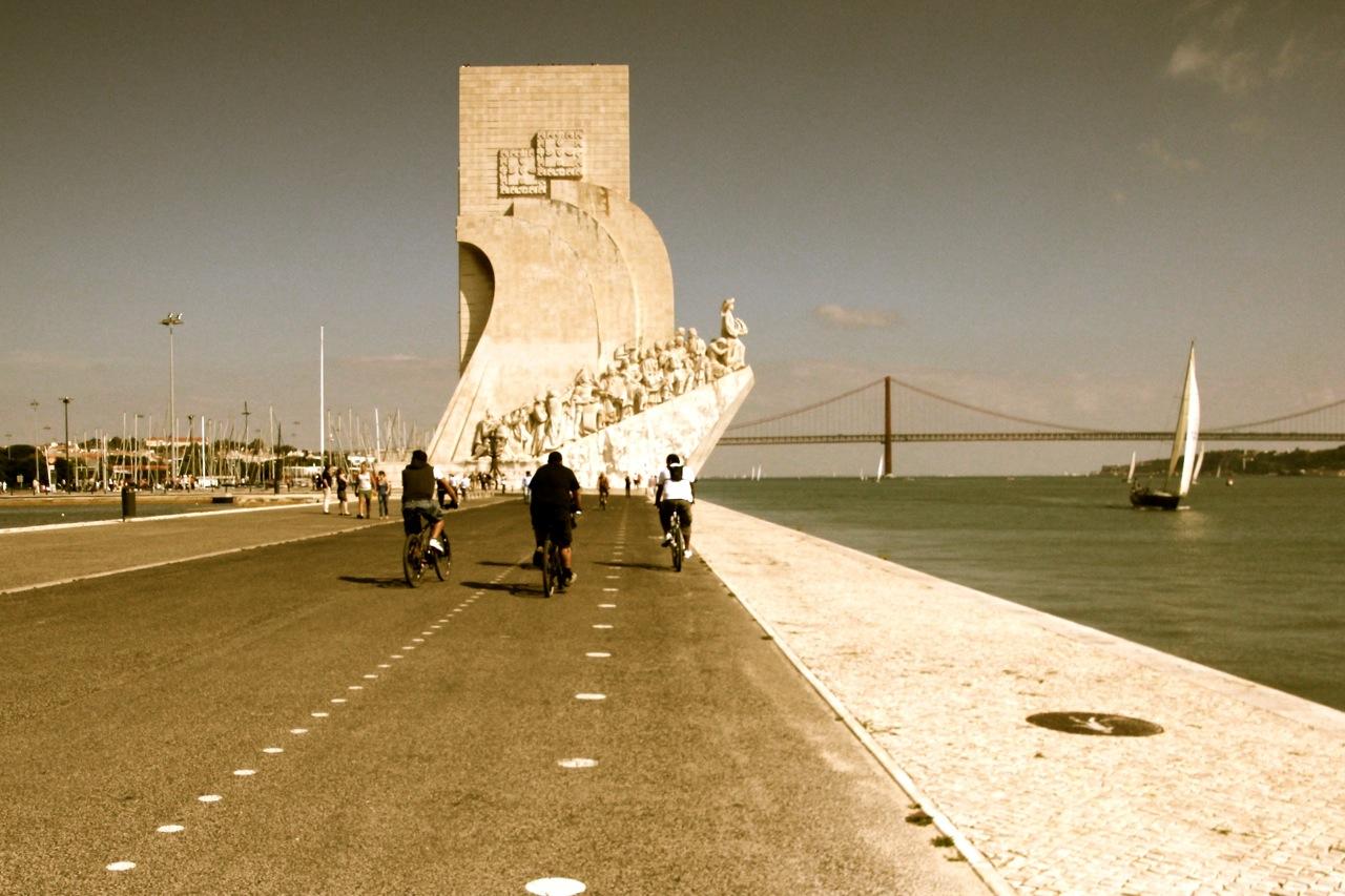 Lissabon, Padrao dos Descubrimentos. ©Susanne Baade, push:RESET