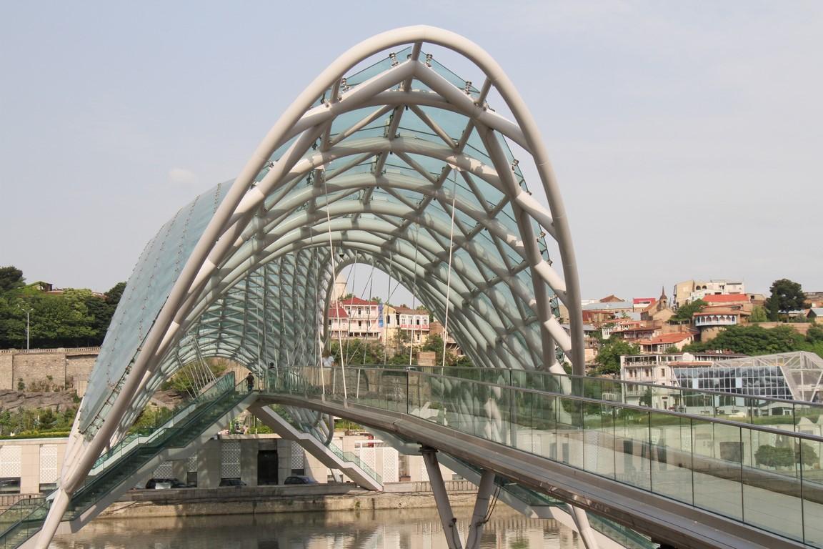 Brücke über die Kura, Tiflis