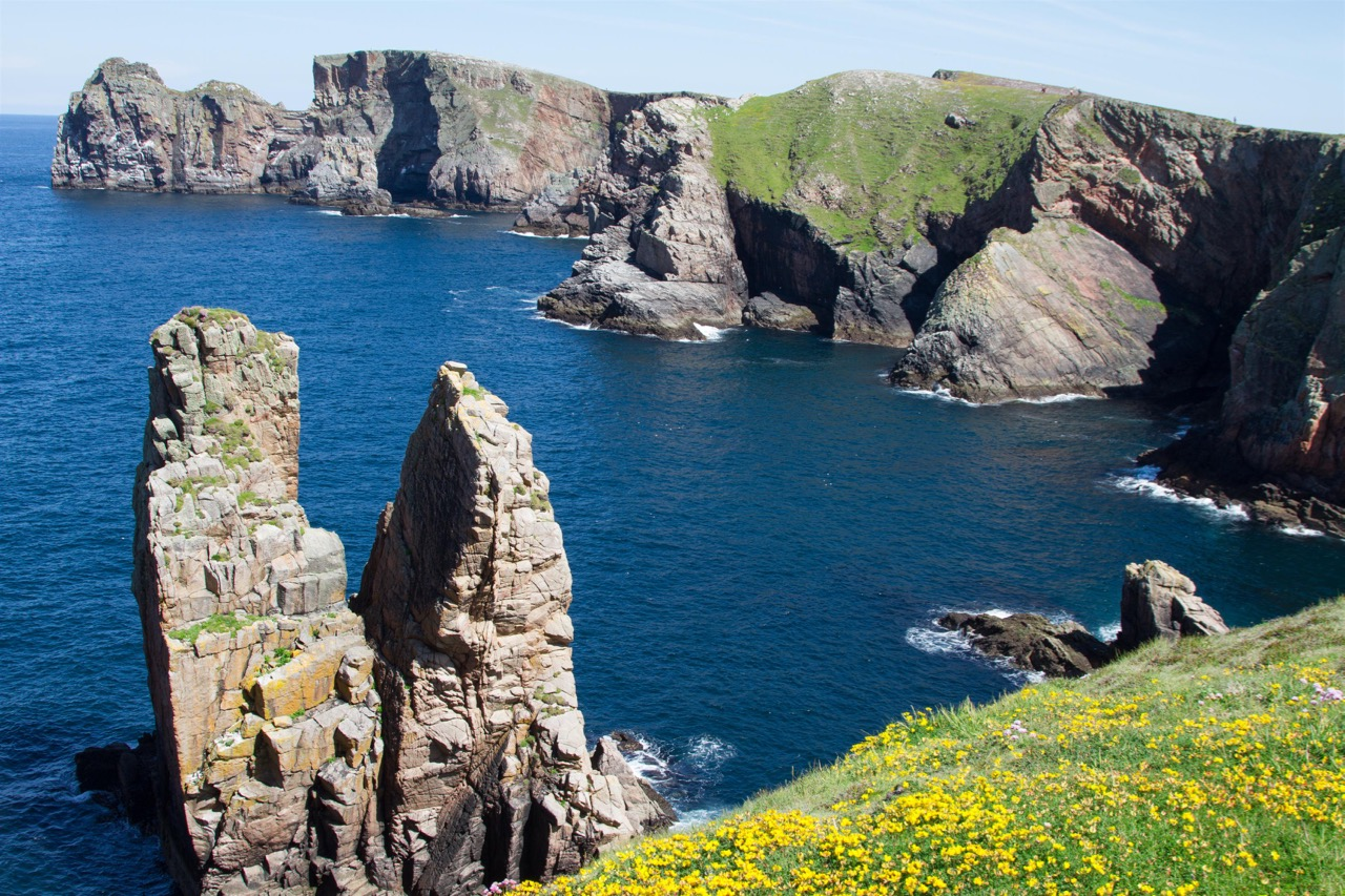 Klippen auf Tory Island