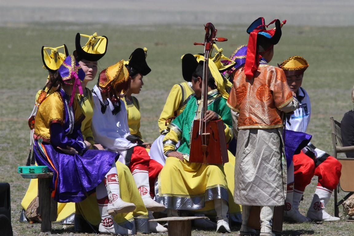 Musiker beim Nadaam (Copy)