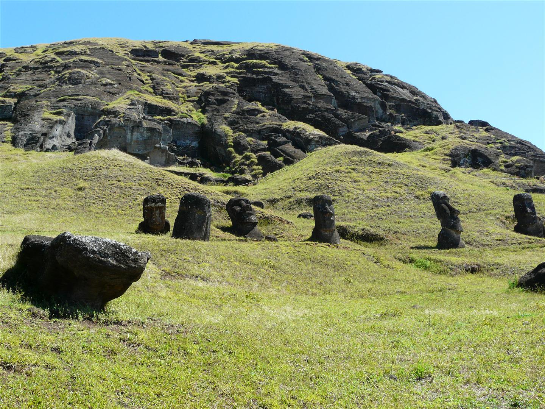 Rapa Nui - Rano Raraku 4