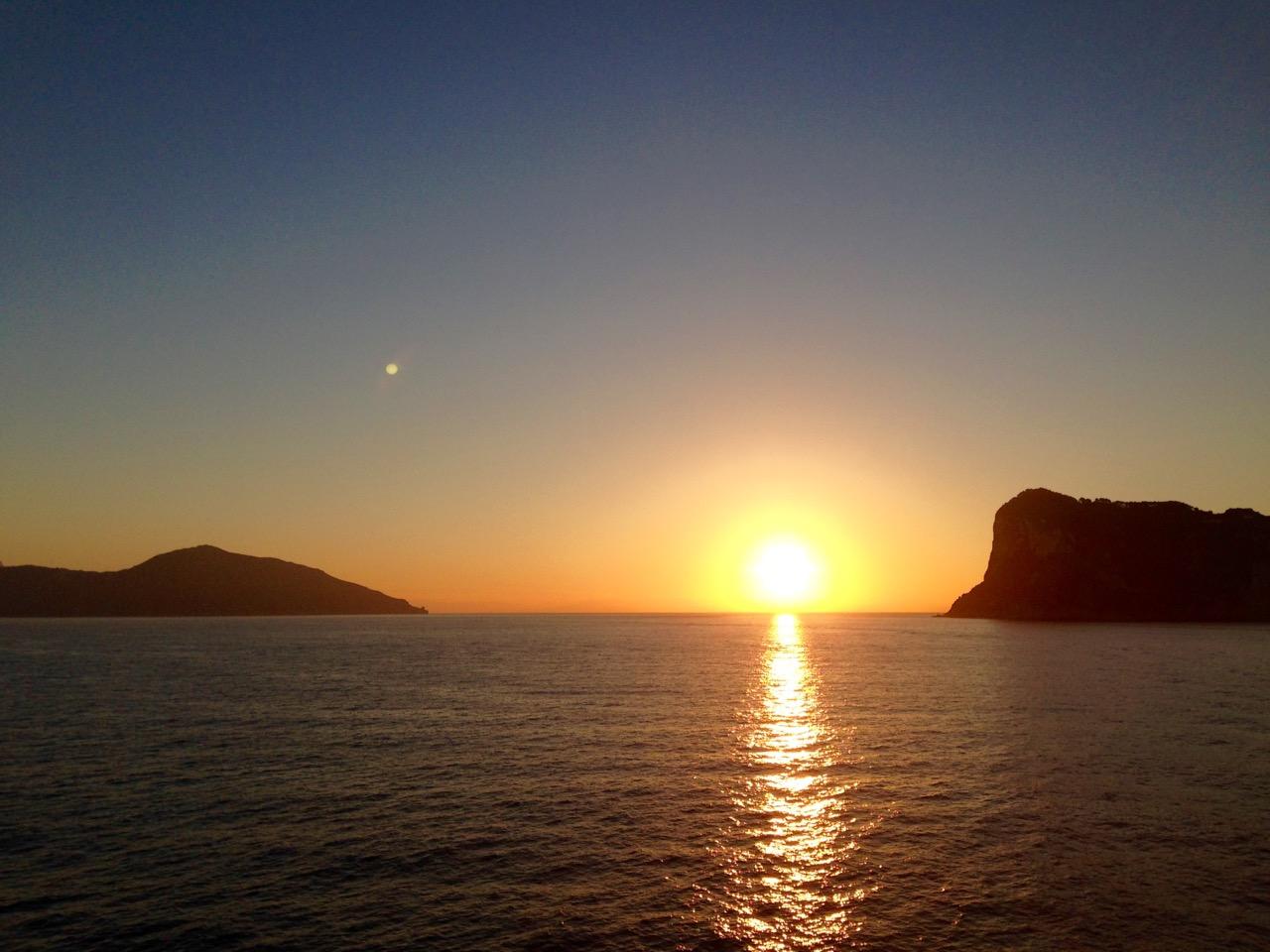 Sonnaaufgang Capri 5