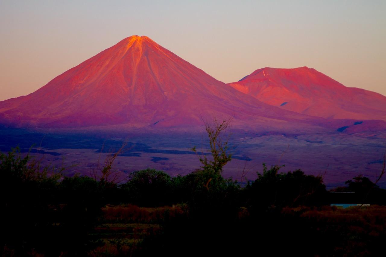 Sonnenuntergang Licancabur