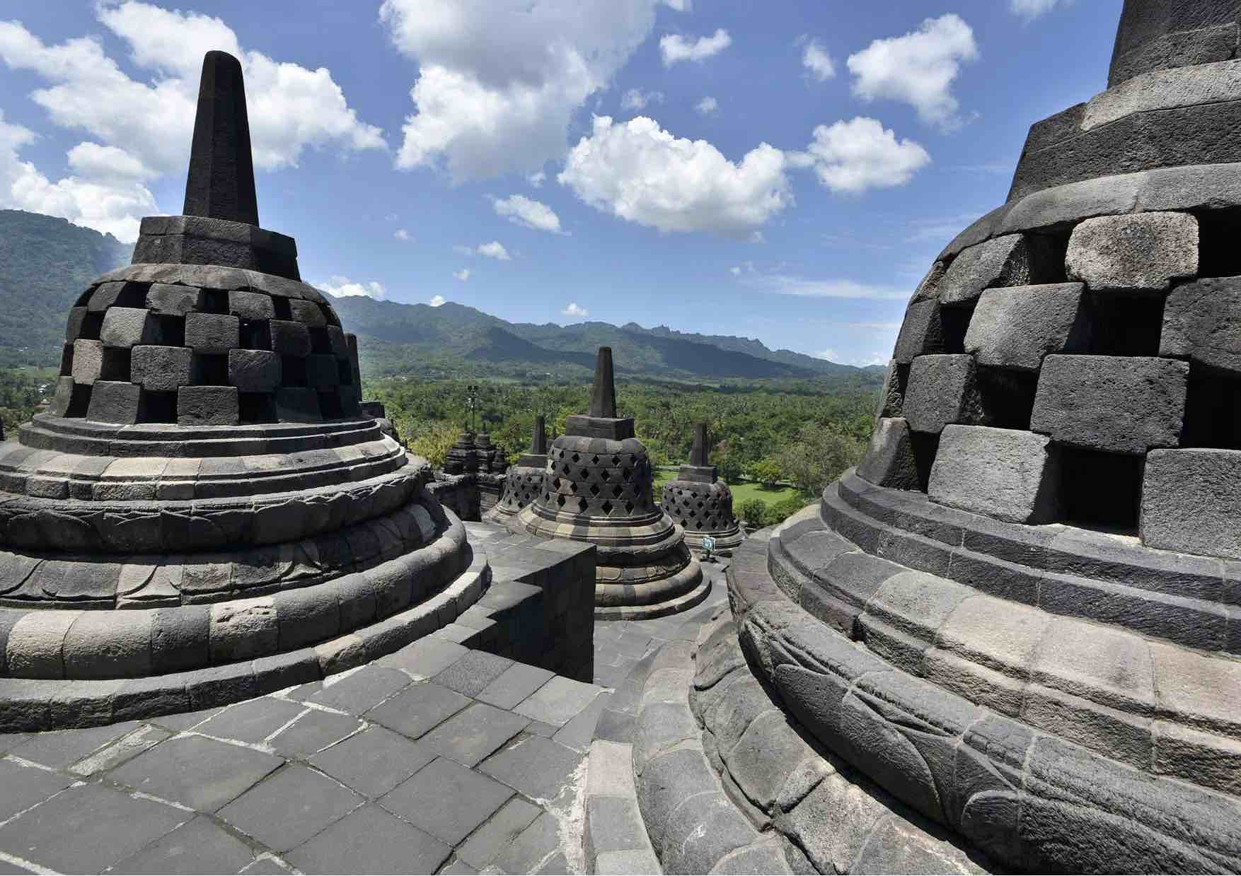 Tempel-Blick