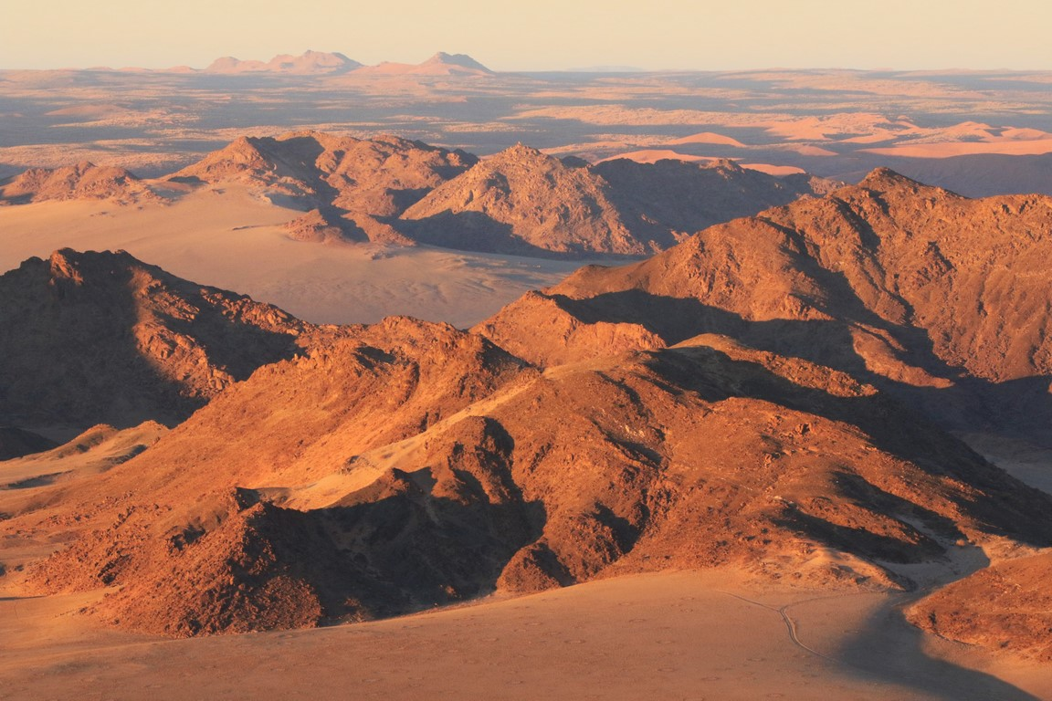 Namib am Morgen