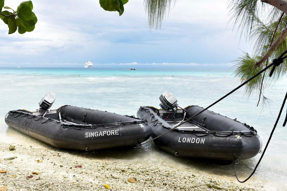 Reiseimpressionen mit der EUROPA, Hapag-Lloyd Cruises.