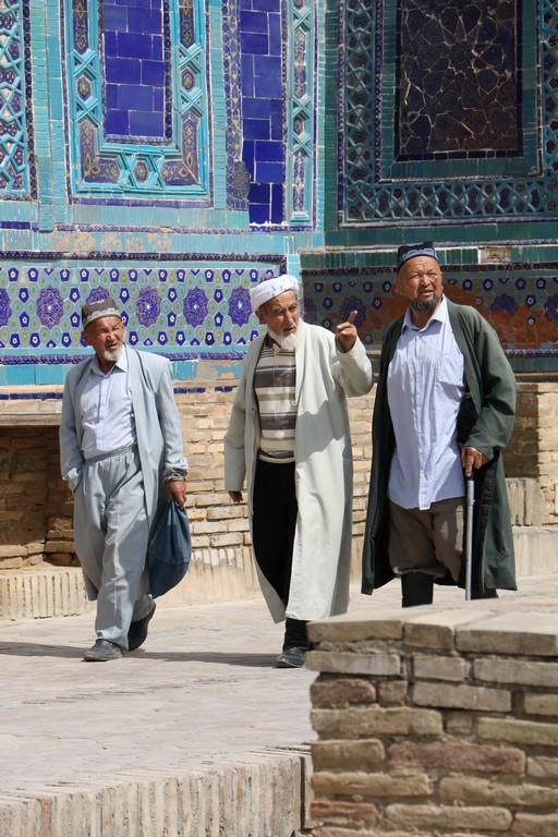 Samarkand, Besuch in der Gräberstadt Shah-i-Zinde