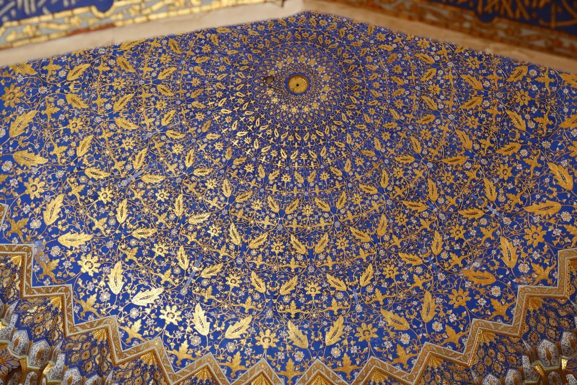Samarkand, Kuppel der goldenen Moschee