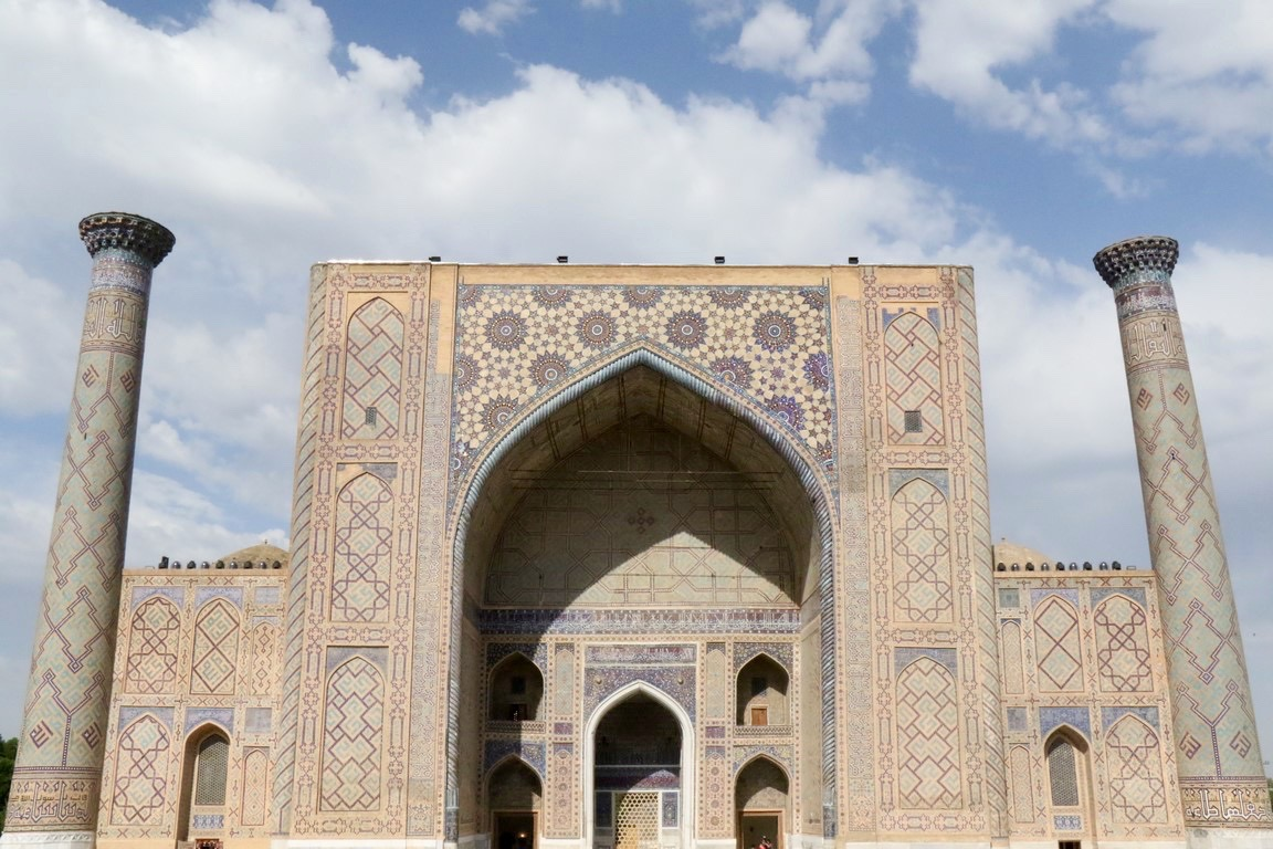 Samarkand, Ulug Beg Medrese am Registan (1)
