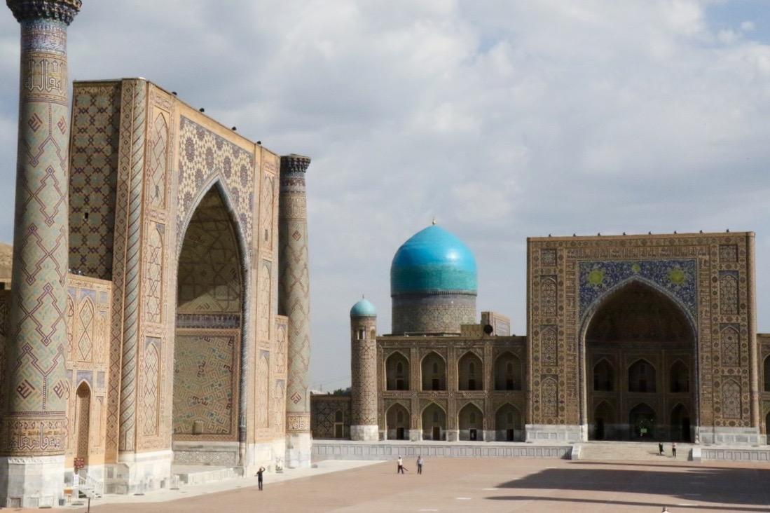 Samarkand, der Registan-Platz (1)
