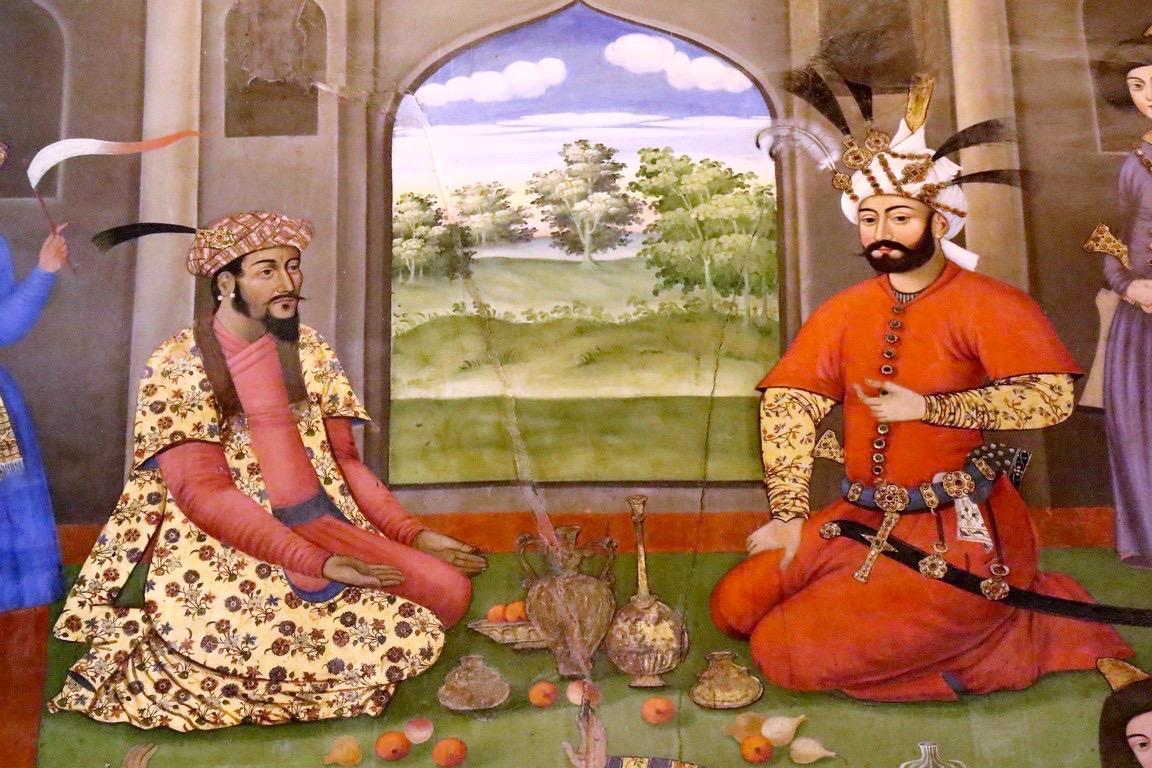 12 Shah Tahmsasp und Kaiser Humayun