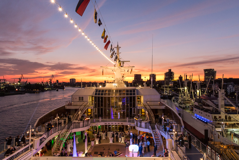 EUROPAS Beste 2017 in Hamburg an Bord der EUROPA, Hapag-Lloyd Cruises.