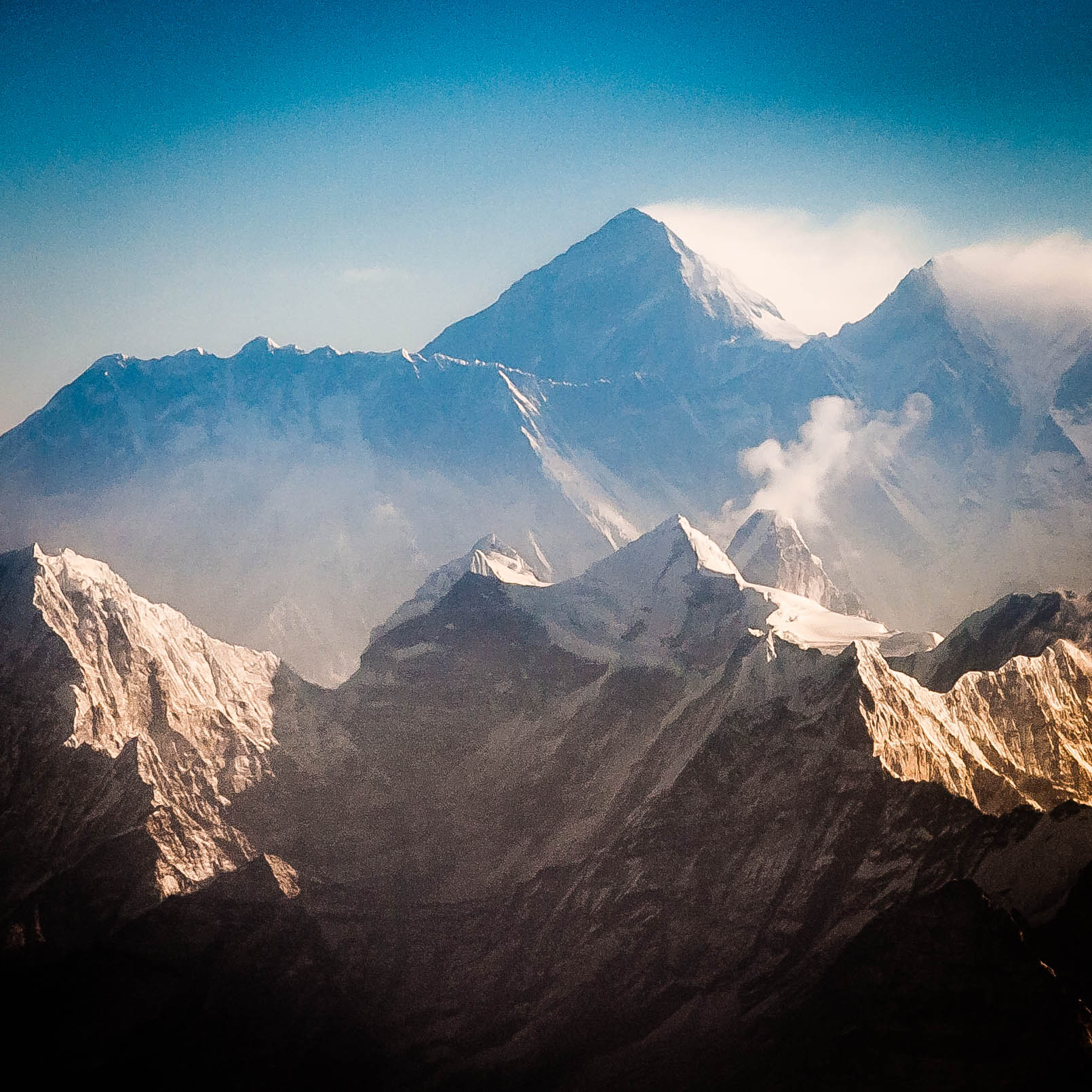 Mt. Everest, Lhotse, Nuptse