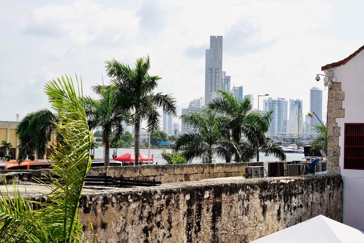 Cartagena Blick aus Hard Rock Cafe (4)