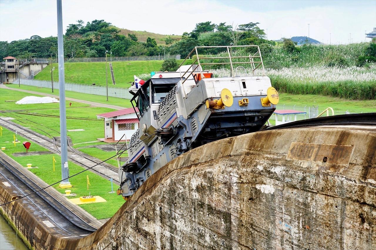 Panamakanal - Muli (3)