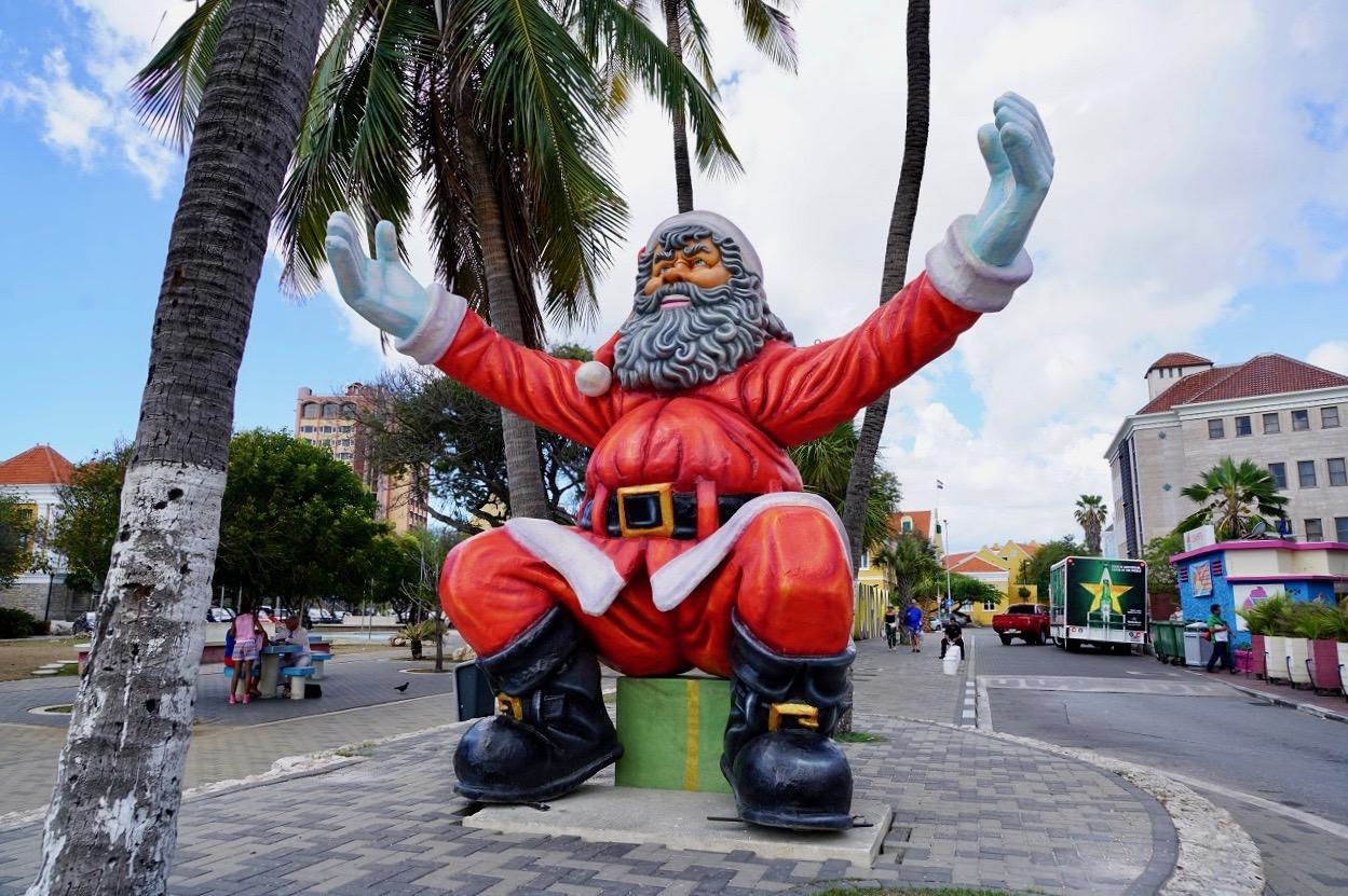 Willemstad - Curacao Ja ist denn schon Weihnachten