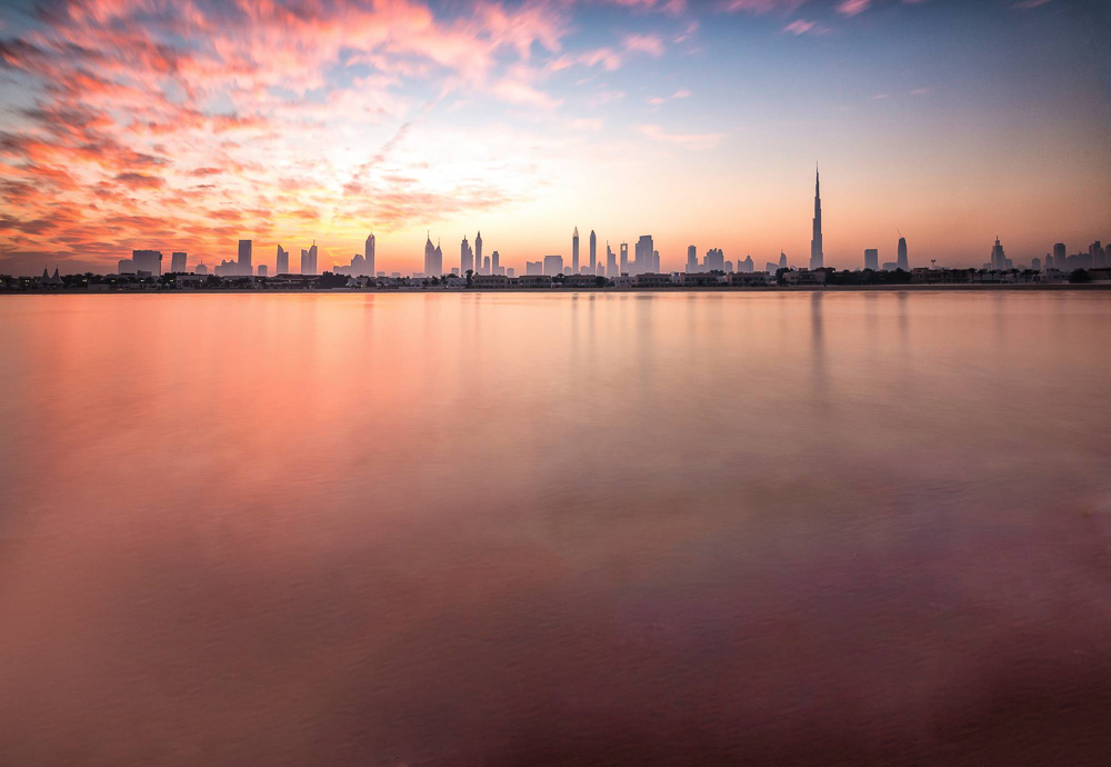 500px Photo ID: 62460025 - I've been through Dubai many times, but never had left the airport. This latest trip I thought I would spend a day in Dubai and venture out to see a bit of the city. I caught this sunrise from Jumeira Beach.