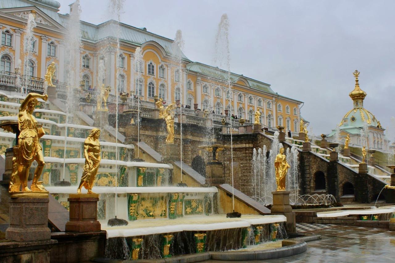 Peterhof, Große Kaskade 2 (C) Seick