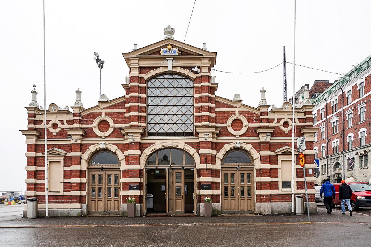 DSC06536 Die alte Markthalle Helsinki