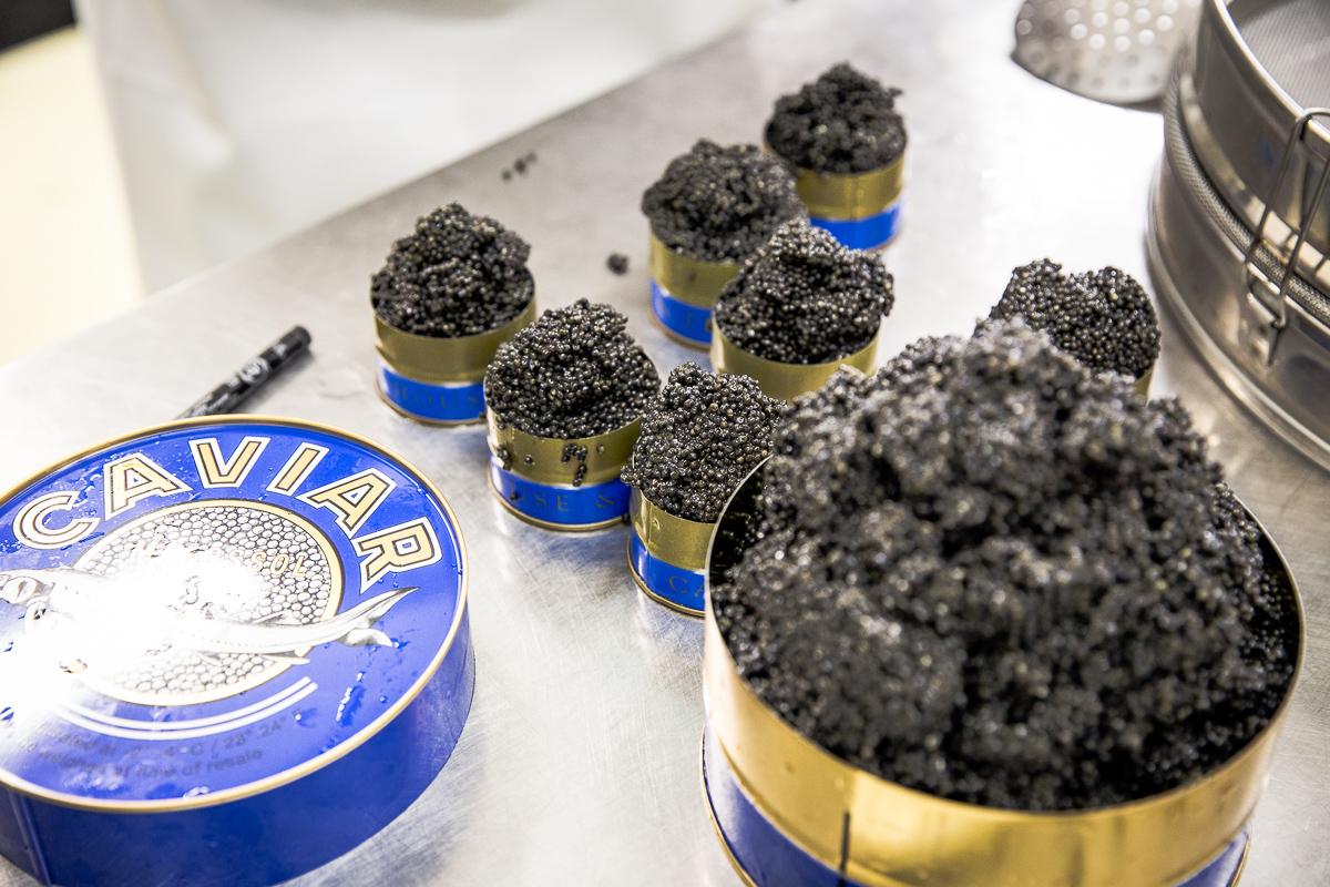 Caviar House Prunier in Frankreich