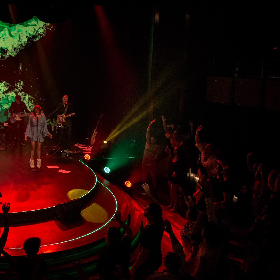 Konzert von Gentleman auf der EUROPA 2, Hapag-Lloyd Cruises.