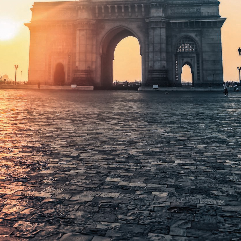 The Gateway of India in Mumbai at dawn, Maharashtra, India. Image shot 12/2013. Exact date unknown.