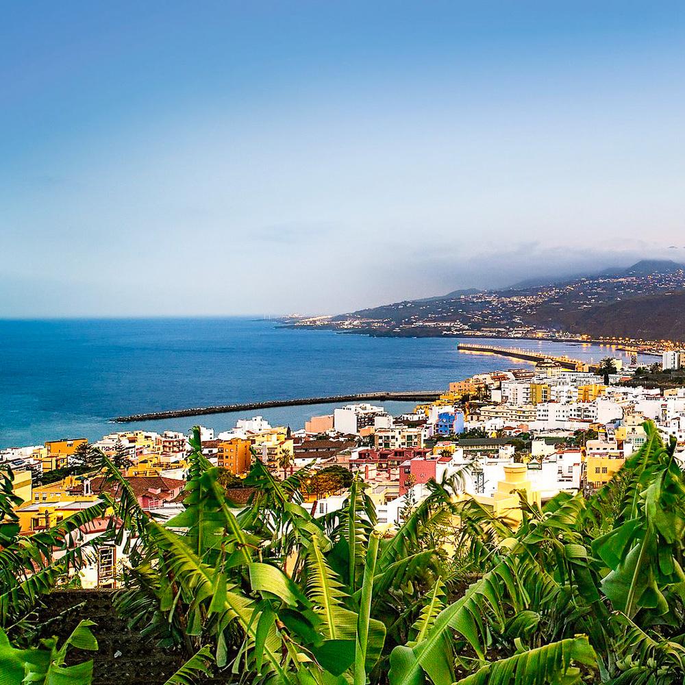 Santa Cruz de La Palma city