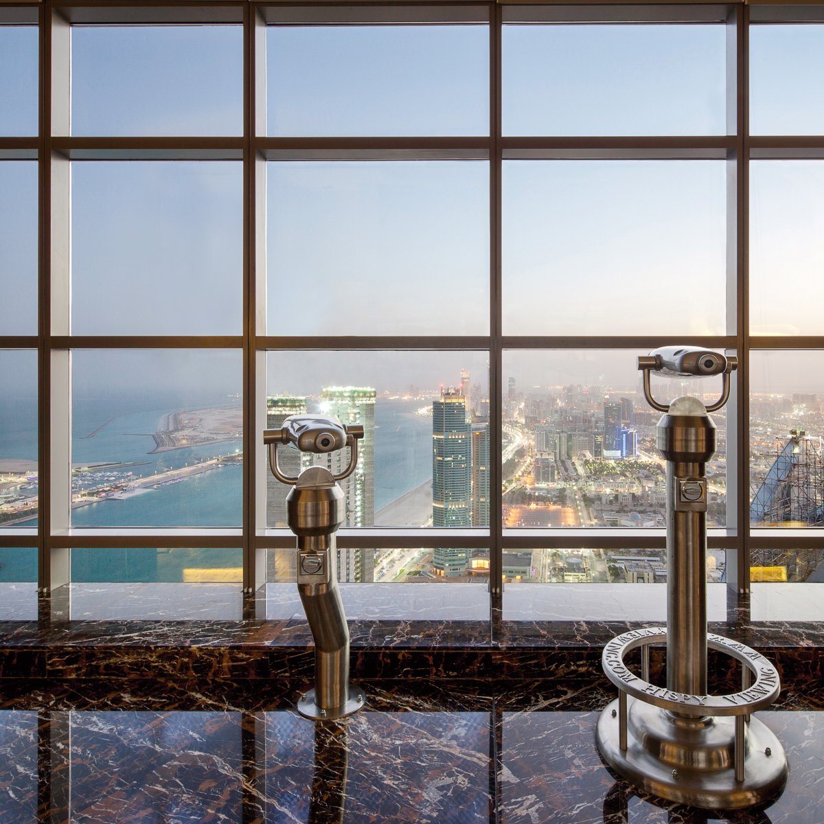Jumeirah at Etihad Towers - Observation Deck at 300 - City View