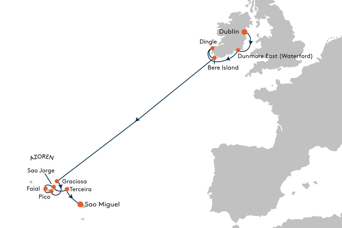 Keltenschatz zum Azoren-Hoch